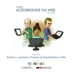 Imagem cartilha de acessibilidade na web